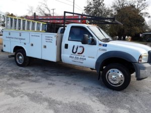 Piedmont and Greenville Garage Door Company Upstate Door Co photo of trucks