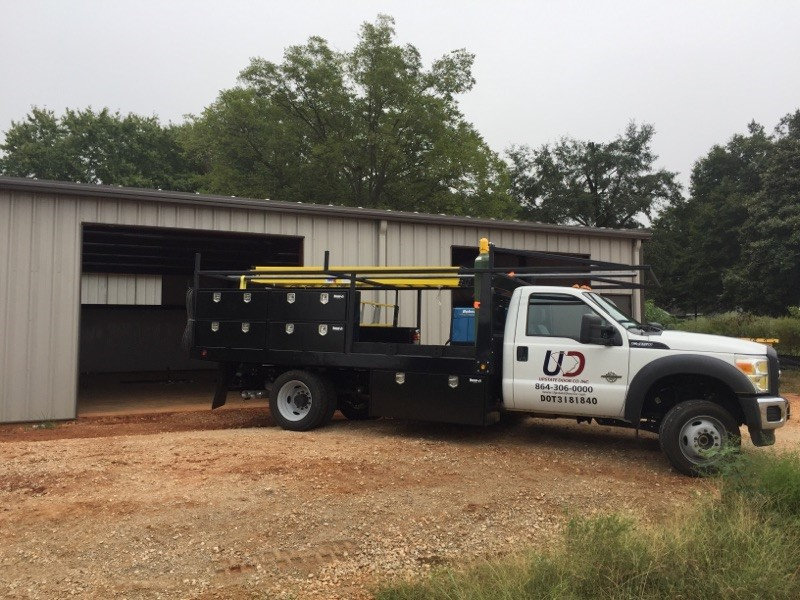 Piedmont and Greenville Garage Door Company Upstate Door Co photo of truck